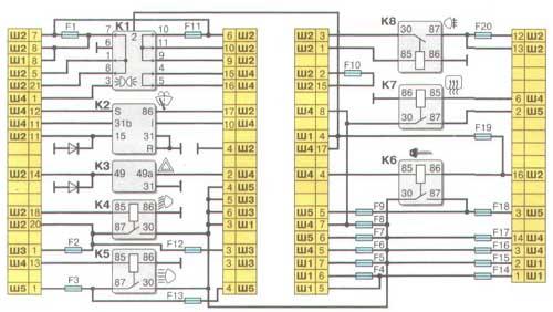Схема системы охлаждения ваз 21015