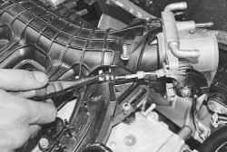 Замена троса привода дроссельной заслонки