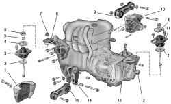 Подвеска силового агрегата