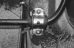 Проверка технического состояния деталей передней подвески на автомобиле