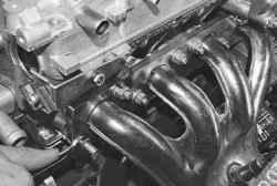 Замена прокладки катколлектора