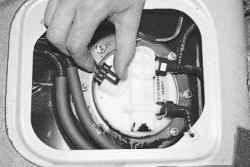 Снижение давления топлива в системе питания двигателя