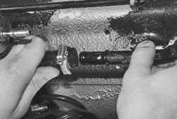 Замена топливного бака и его наливной трубы